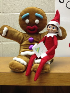 Elf on the Library Shelf, Day 2