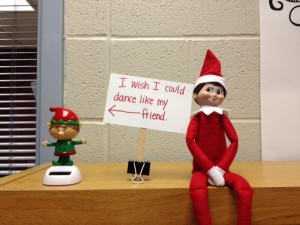 Elf on the Library Shelf, Day 1