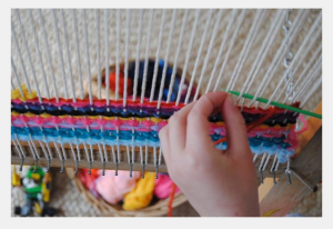 Loom in Library Maker Space