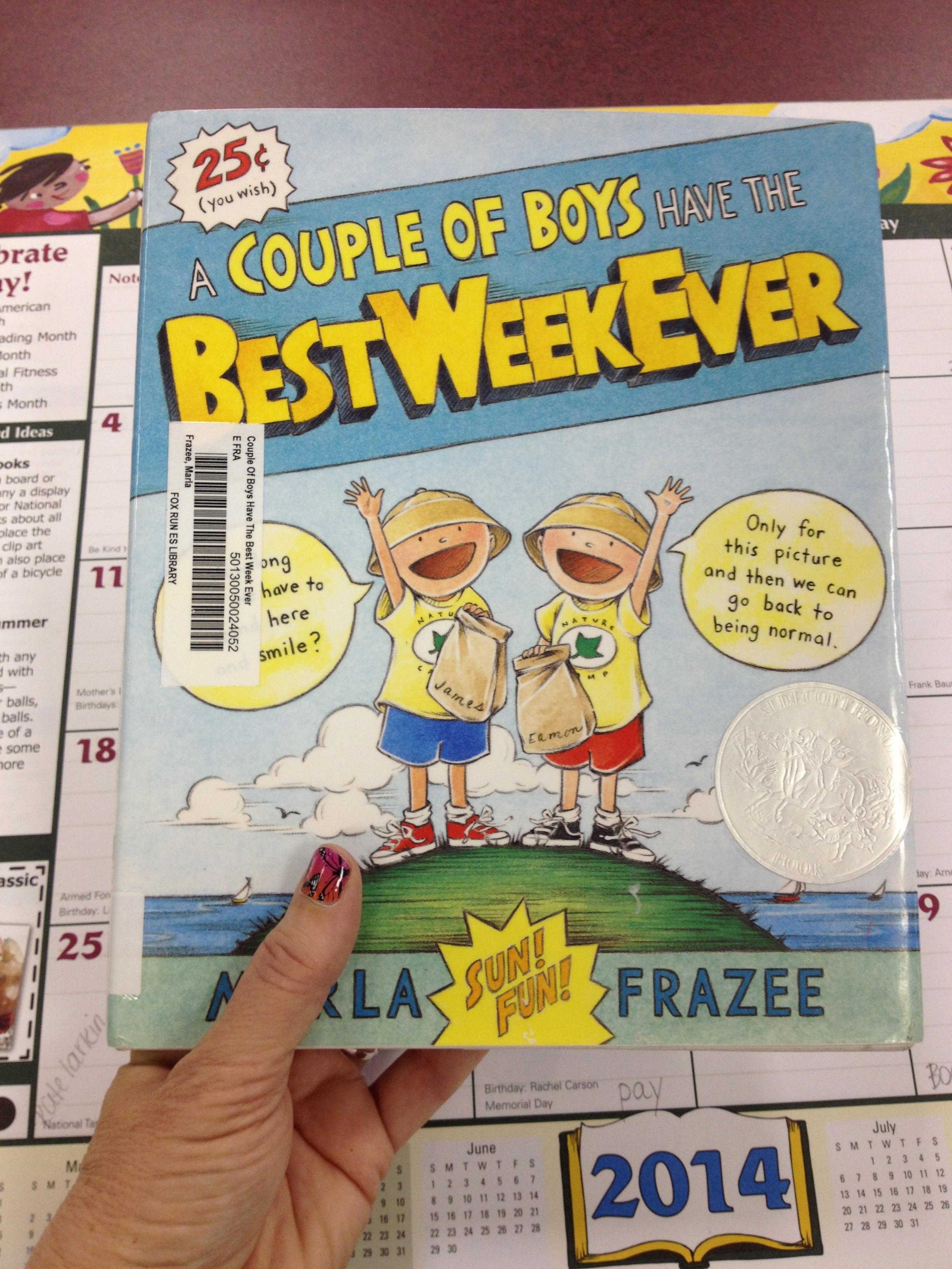 Summer Bucket List with GoNoodle and Marla Frazee