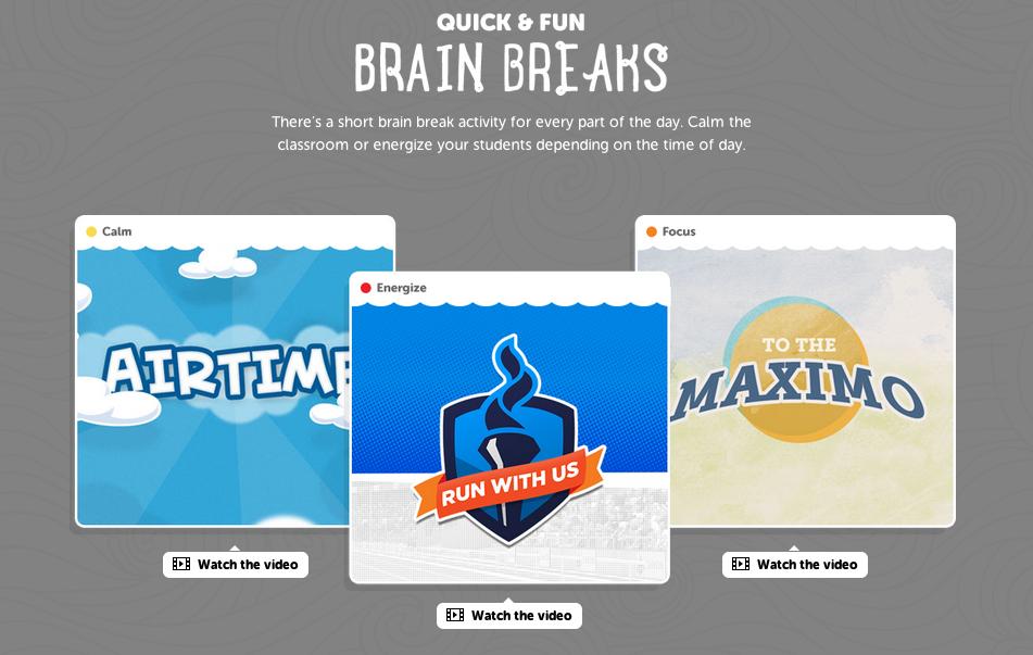 GoNoodle for Library Brain Breaks