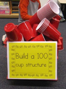 100 cup structure