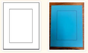 Foldable Paper Frames
