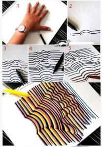 Library MakerSpace Handprint Art