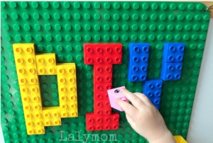 Removable Lego Wall