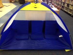 School Library Tent