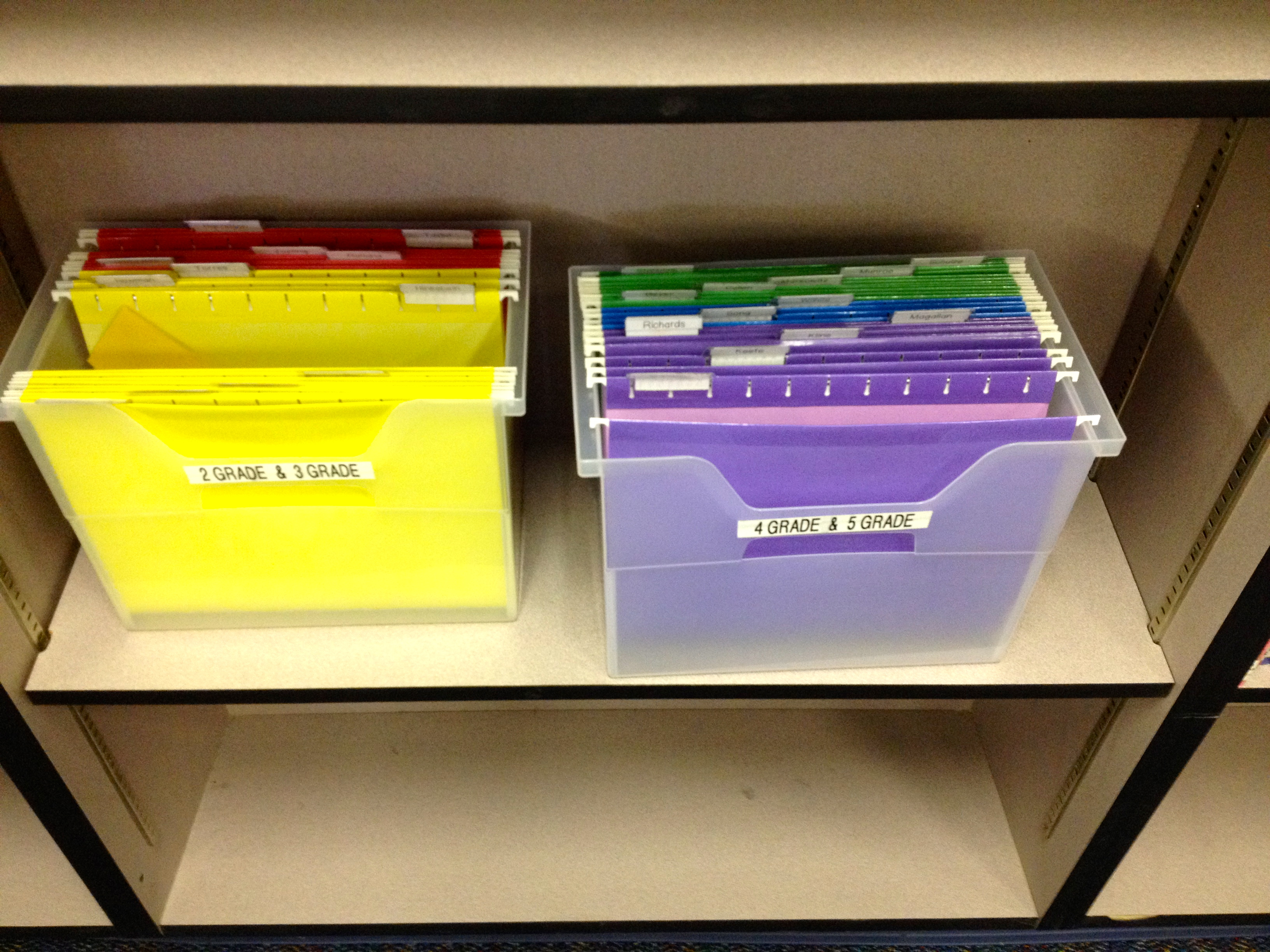 Library Card Shelf Markers, Part 2
