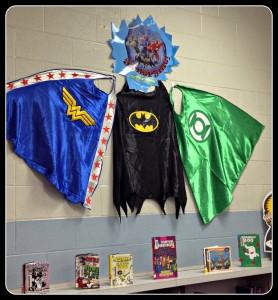 Library Superhero