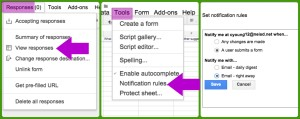 Google Form School Library
