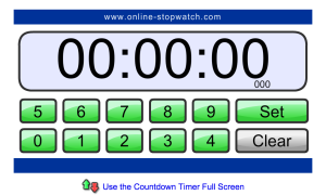 Online Timer for Teachers