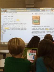 digital reading school library