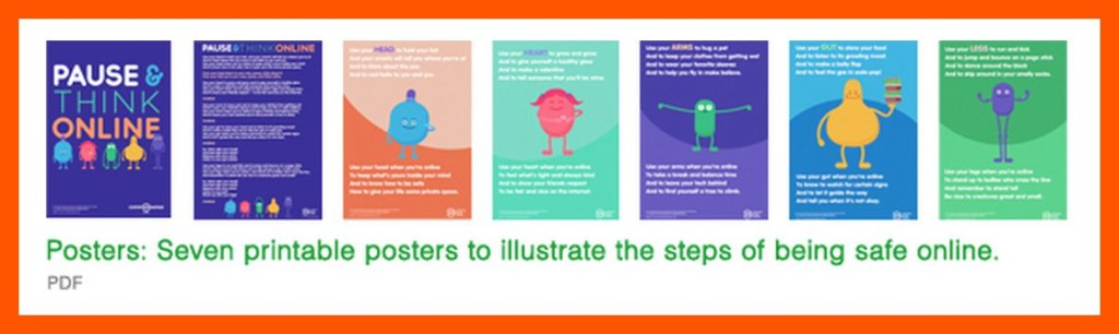 Printable Digital Citizenship Posters