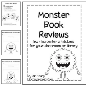 Monster Book Reviews printable