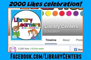 2000 Likes Library Centers Facebook