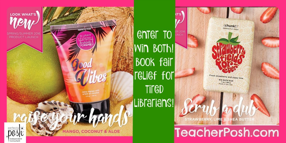 Perfectly Posh Librarian Giveaway