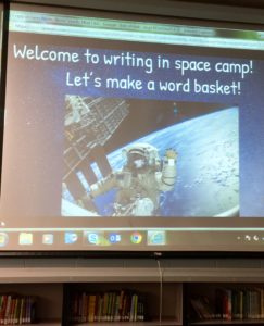 Writing in Space Camp