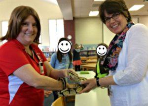 Snake in School Library