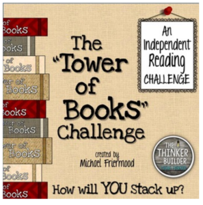 Tower of Books Challenge