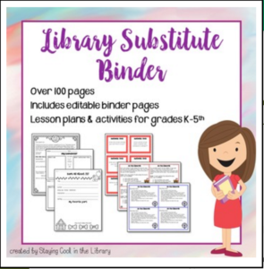 Library Substitute Binder