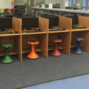 Hokki Stools in Library