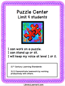 library puzzle center