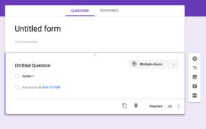 Begin Google Form