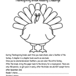 Thanksgiving Break Reading Challenge
