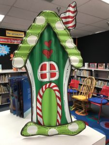 Library Gingerbread House