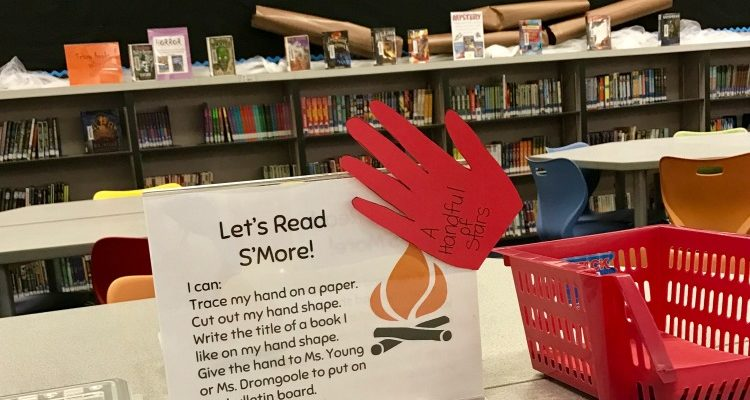 Encourage your Library Campers to Read S'more