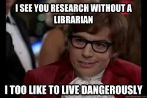 research librarian