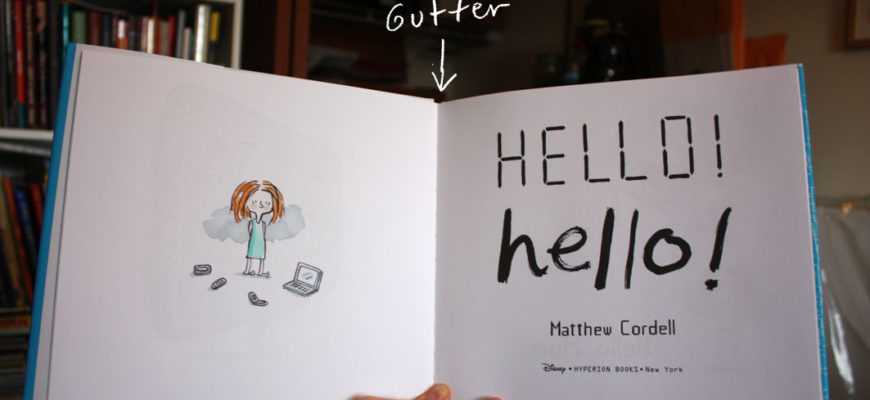 Reading Picture Books with Children 6: Gutters