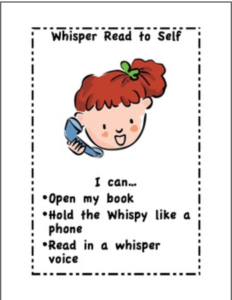 Whisper Read to Self