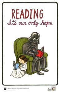 Darth Vader Reads