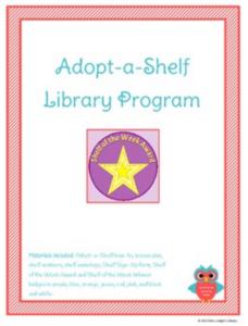 Adopt A Shelf Library Program