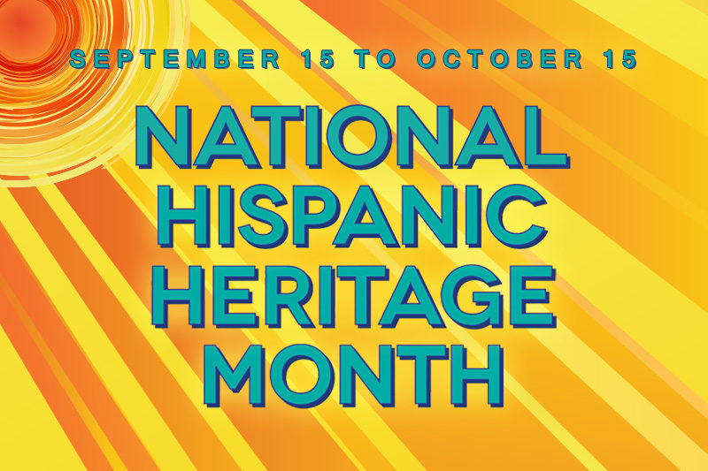 Hispanic Heritage Month in the Library
