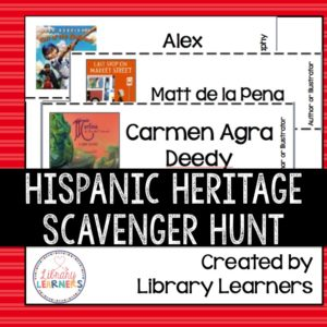 Hispanic Heritage Scavenger Hunt