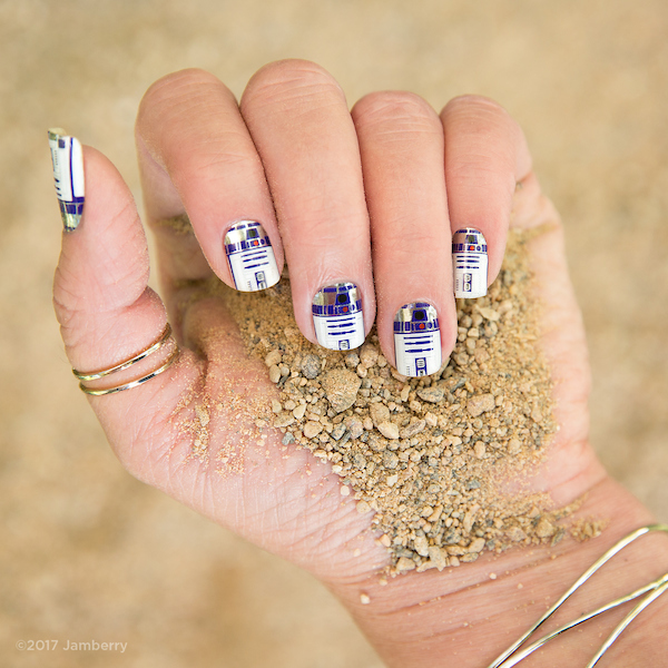 Star Wars R2D2 Jamberry wraps