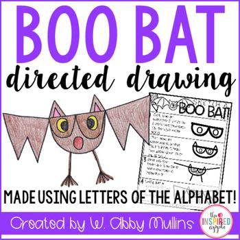 Boo Bat Drawing
