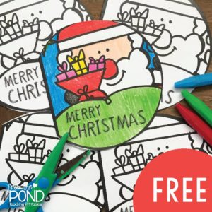 Christmas Cards to Print and Color