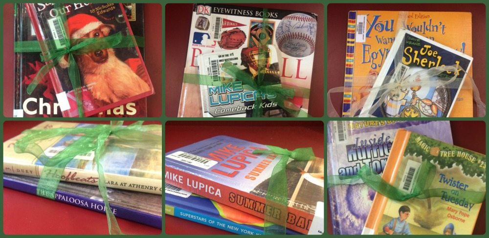 Book Bundles Library Collage