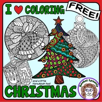 Christmas Coloring Freebies