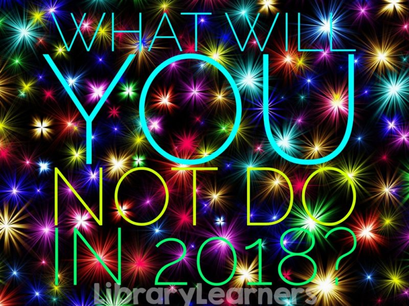 Library New Year's Resolutions