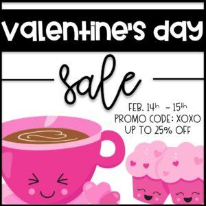 TPT Valentine Sale