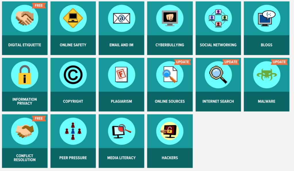 BrainPop digital citizenship