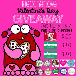 Teacher Love Giveaway