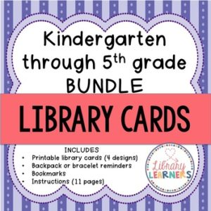 image about Library Card Printable identify Library Card Shelf Markers - Library Pupils